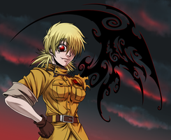 Seras Victoria the Evening Walker by HegedusRoberto