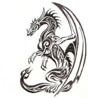 Dragon Tattoo by ghostagegirl