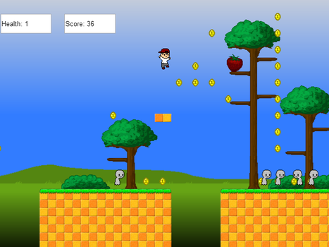 8bit HTML5 Game by Infra-Raven