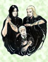 Snape, Lucius and Draco... by snapefanclub