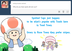 Ask Toad - Spots by pocket-arsenal