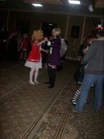 Lizzy and Alois by Sai-Chan10
