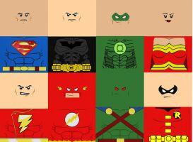 lego dc super heroes decals pack by megasonicbros
