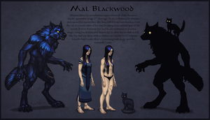 Mal Blackwood and Soot by Shadow-Wolf