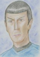 Mr. Spock by ensignHelen