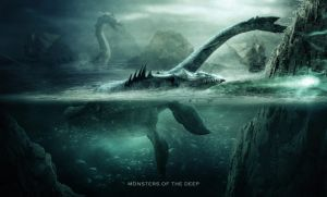 Monsters Of The Deep 2 by ElementOfOne1