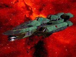 Massan Class Strike Carrier by DevilDalek