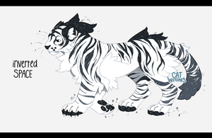 {Auction, Closed} Inverted Space Tiger by catwitches