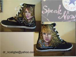 Taylor Swift on Converse by alcat2021