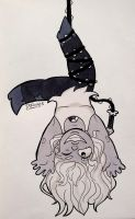 Inktober Day 9 by DrFoxes