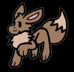 Eevee Idle Animation by fluffscarf