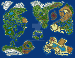 World Map v6 by RaZziraZzi