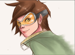 tracer sketch by Holicdraw34