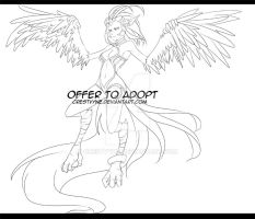 .:Offer To Adopt3_Harpy(CLOSED):. by CrestVyne