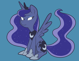 Princess Luna by Pixel-Prism