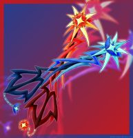 Keyblades: Lightstreak Duo by PhoenixTrooper