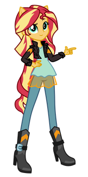 [Commission] Sunset Shimmer by MixiePie