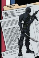 Snake-Eyes V2 Dossier by meleeinabox