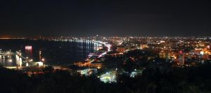 Pattaya night by geckogr