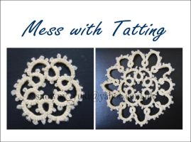 Mess with tatting by snowny