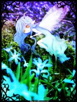 Forget-me-not fairy by Kohane-hime