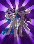 Can't Stop the Music ::REPOST:: by chibi-jen-hen