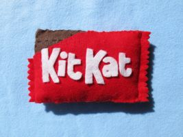 KIt Kat Bar Pushie by uglykat
