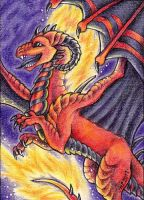ACEO Trade: Dragarta by Agaave