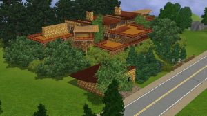 Sims 3 Tropical mansion by RamboRocky