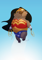 @sketch_dailies 06-09-15 Wonderwombat by CurroHerrero