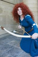 Brave: Merida Crouch by TresWildCosplay