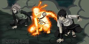 Naruto 633: Team 7 by IITheDarkness94II
