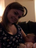 Me and beautiful little Kennedy by AngelicaRose24