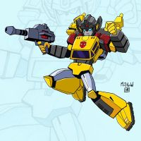 TF Animated Sunstreaker by matthewart