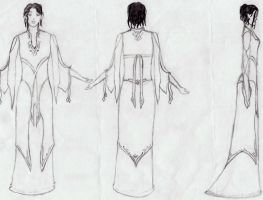 elven dress by riorval