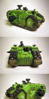 Sons of Medusa Land Raider by aaronprovost
