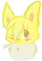 Sadie the Jolteon (Quick Digital Painting) by Angiebutt