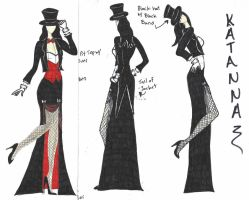 Zatanna Bridesmaid Dress 2 by hiddenjester