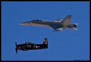 Navy Heritage nellis II by AirshowDave