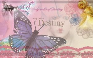 Wallpaper Dolls of Destiny by masquerade-lady