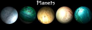 Planets by M3-Productions