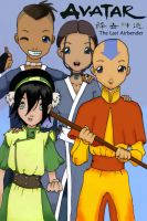Avatar - The Last Airbender by suzannedcapleton