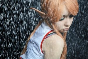 In the Rain.. by PayaSnakeFist