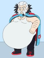 Wulfric the fat Gym Leader of Snowbelle City by MCsaurus