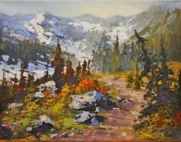 BC Mountain Hike by artistwilder