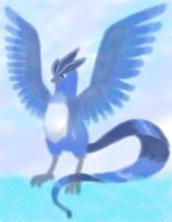 articuno new try with bg by daylover1313