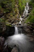 ketchum creek falls by NWunseen