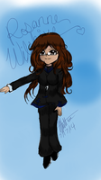 Rosanne concept art (finished) by xXRosannexZiggyXx