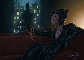 selina kyle by simon--says
