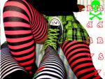 stripe sock by baby-babsy